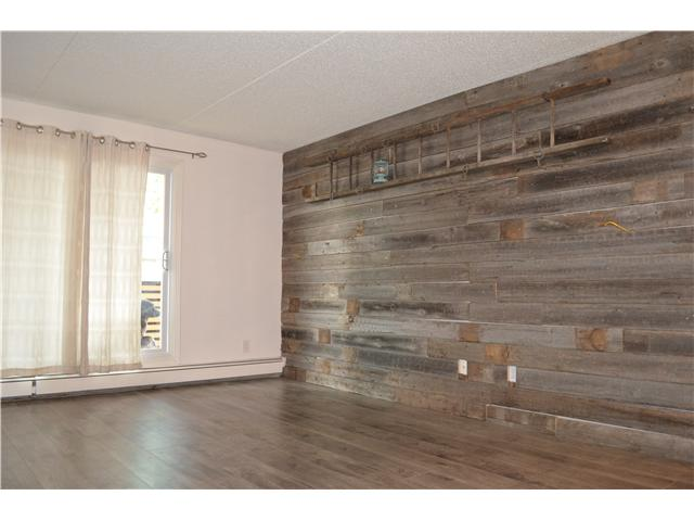 Wood Laminate Accent Wall Great Room Renovation